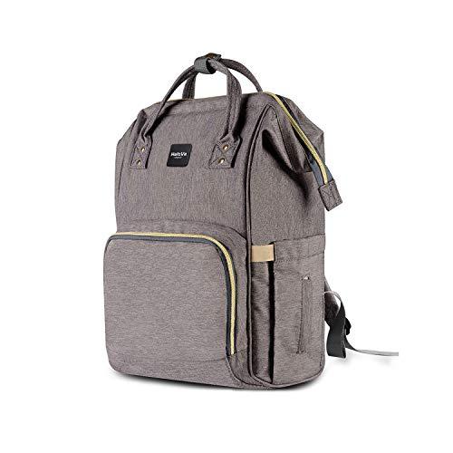 HaloVa Diaper Bag Multi-Function Waterproof Travel Backpack...