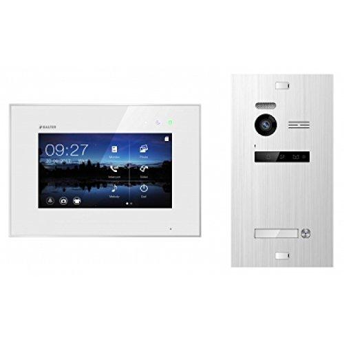 """Balter Premium Video-Türsprechanlage mit Freisprechfunktion - Gegensprechanlage mit 7"""" Monitor - hochwertige Sprechanlage mit Türöffner - Türklingel mit Kamera - für Sicherheit in Ihrem Zuhause"""