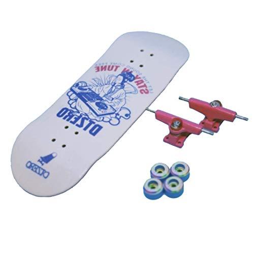 WJH9 Mini monopatín Juguetes FSB Finger Skate Boarding Pequeño aleación Completo Profesional...
