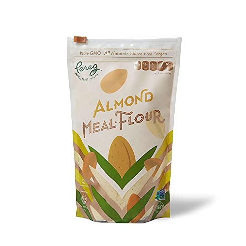 Pereg Blanched Almond Flour - Gluten Free, Keto Friendly, Finely Sifted - Wheat Free Flour, Multi-Purpose Flour & All Purpose Flour Alternative