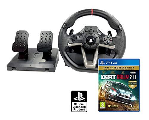 Volante PS4 Licencia Original Playstation 4 RWA Apex + DiRT Rally 2.0 GOTY