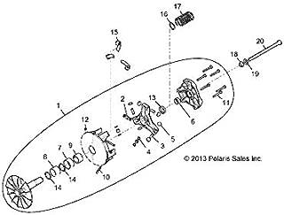 Polaris Primary Clutch Bearing, Genuine OEM Part 3514492, Qty 1