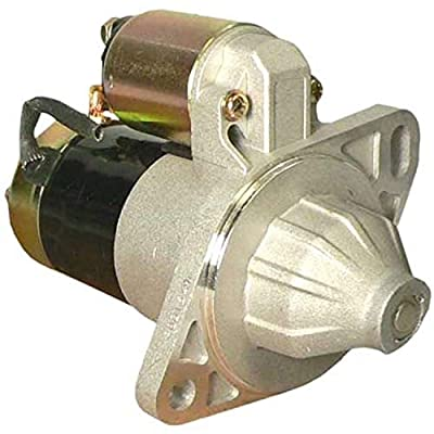 DB Electrical SND0413 New Starter For John Deere 1435 4100 Gator UTV /Yanmar Engines 3T72 3T75 3TN66 3TN72 3TN75 3TNA72 3TNA75 YM1600 Lawn Tractor