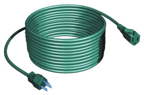 Westinghouse 28308 40-Feet Outdoor Single Outlet Power Cord, Green