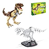 Milestar Dinosaur Building Blocks Toys STEM Building Toy with Fossils Bricks Set for Kids Boys Girls Gifts Age 6 7 8 9 10 ( 906 Pieces )