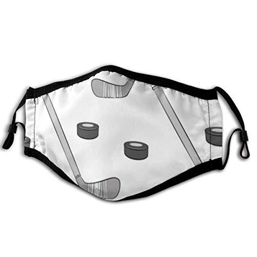 Eishockey-Gesichtsmasken Waschbare Wiederverwendbare Sicherheitsmasken Schutz vor Staubpollen Pet Dander Andere in der Luft