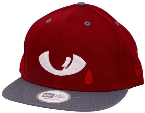New era DTA Snapback Posse All Evil Cardinal/Grey/White - One-Size