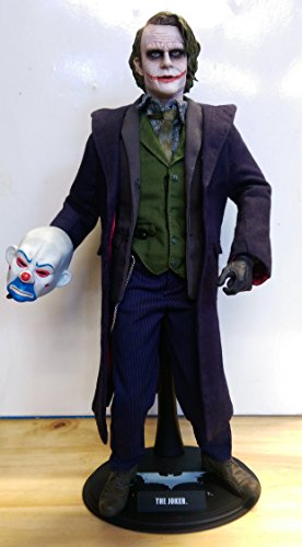 Hot Toys - Batman The Dark Knight figurine 1/6 Joker Movie Masterpiece 31 c