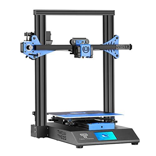 Twotrees Impresora 3D Bluer V2 con Extrusor de Doble Rueda de Extrusión y con Reanudar la Función de Impresión Impresora 3D FDM 235 x 235 x 280mm