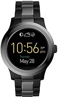 Fossil Q Founder 2.0 TouchscreeFon Black Smartwatch (Black Strap Regular)