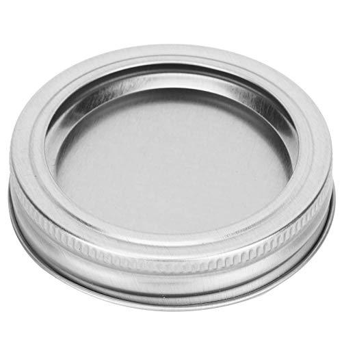 Uxsiya Tapa de sellado Split‑Type Tarro Tapa 70mm para Miel para Cocina (XH00177 plata)