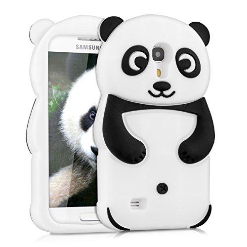 kwmobile Funda compatible con Samsung Galaxy S4 Mini - Carcasa de silicona y...