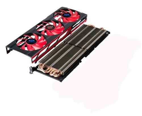 Dissipatore Ventola per Scheda grafica ATI Radeon HD 79908Thermotube...