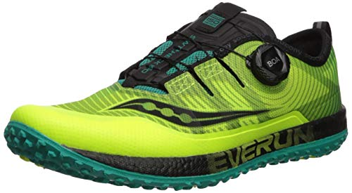 Saucony Switchback Iso, Chaussures de Trail Homme, Citron No