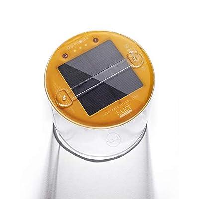 MPOWERD Luci Original: Solar Inflatable Light, Versatile Outdoor Adventure Lantern, 65 Lumens, Lasts 24 hours, No Batteries Needed, Waterproof, Compact, Lightweight, Durable