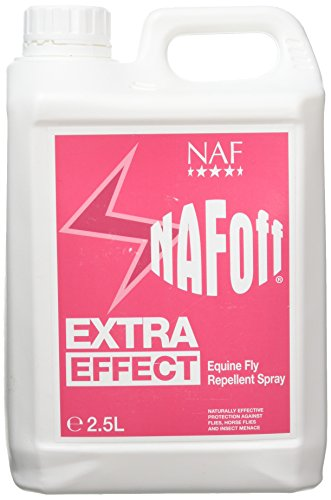 NAF Natural Animal Feeds Off Extra Effect - Spray repelente de moscas para caballos Talla:2.5L
