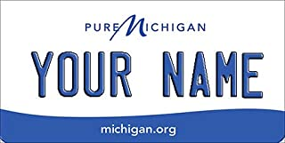 BNS Personalized Mini License Plate/Tag - Bicycle - Toy Car - Wagon - Golf Cart etc.Any State/Any Theme