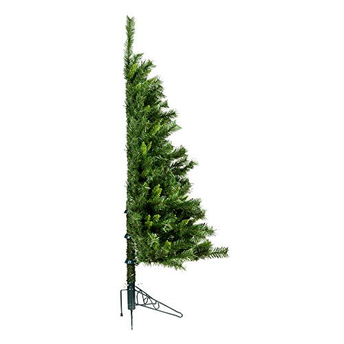 Vickerman 4' Imperial Pine Artificial Christmas Wall Tree, Unlit - Faux...