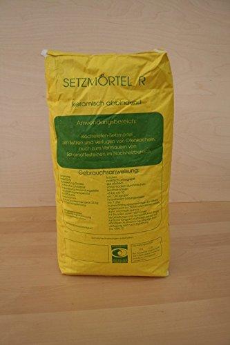 Setzmörtel R 25 kg Ofenbau Schamottmörtel