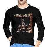 JIHOLIO Bounty Hunter Live 78 - Camiseta de manga larga para hombre, color negro, Negro , S