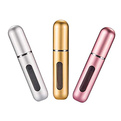 Censung Portable Mini Refillable Perfume Empty Spray Bottle Atomizer...