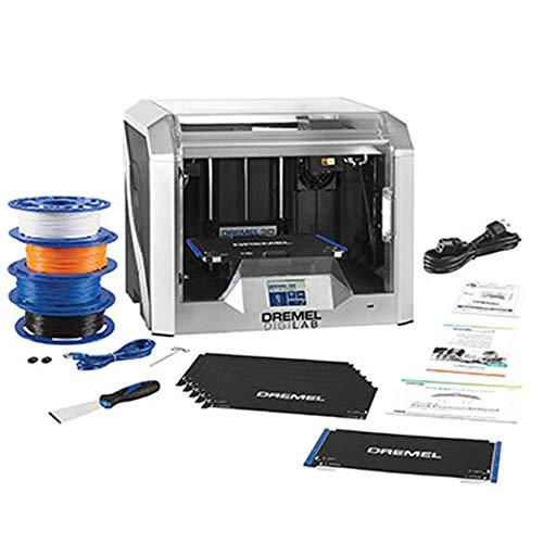 Dremel DigiLab 3D40 FLEX 3D Printer w/extra supplies, 30 Lesson plans, Professional Development course, Flexible Build Plate, Automated 9-Point Leveling, PC & MAC OS, Chromebook, iPad Compatible