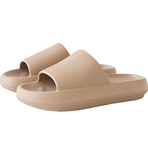 B/H zapatillasdemasajemujer,Zapatillas de Masaje para Interiores, Sandalias Antideslizantes para el hogar-Pink_40-80,UnisexSandaliasdemasaje,