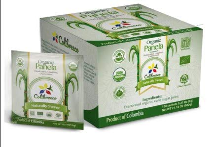Organic Panela - Made in Colombia (100 Sachets)