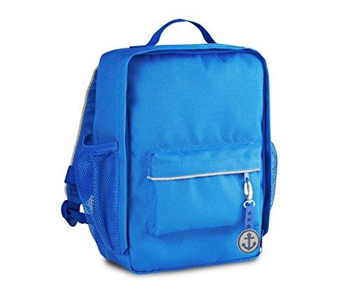 TCM Tchibo Kinder Rucksack Blau oder Orange 25x32x15 cm (Blau)