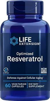 Life Extension Optimized Resveratrol 60 Vegetarian Capsules