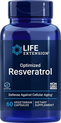 Life Extension Optimized Resveratrol, 60 Vegetarian Capsules