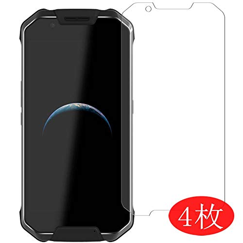 【4 Pack】 Synvy Screen Protector for AGM X2 SE 0.14mm TPU Flexible HD Clear Case-Friendly Film Protective Protectors [Not Tempered Glass] New Version