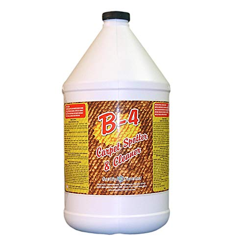 B-4 Commercial Carpet Spotter, Cleaner and Stain Remover. Wonderful citrus fragrance. No other product needed!-1 gallon (128 oz.)