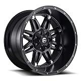 Fuel 1PC D53117902645 D531 Hostage 17X9 5X4.5/5.0 Rim 17' Offset -12mm 78.1mm Matte Black (One Wheel)