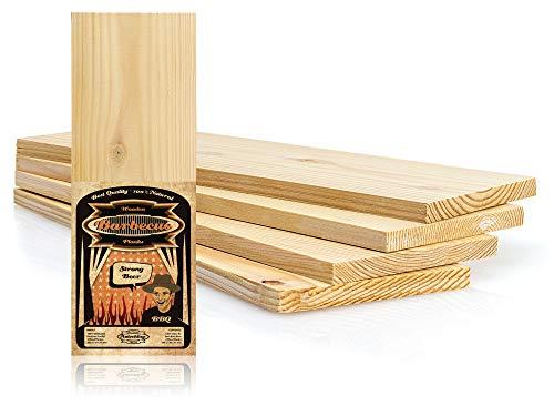 Axtschlag Wood Plank - Set di 4 tavole da barbecue in legno