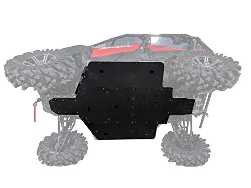SuperATV 1/2' Thick UHMW Skid Plate for 2016+ Honda Pioneer 1000/1000-5 | Fully protect your machine's undercarriage! | Made in the USA