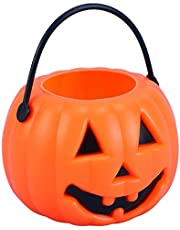 "Western Era Kids ""Pumpkin"" Portable Candy Basket for Halloween, Fancy Dress - Party, Show, Funtion, Décor"