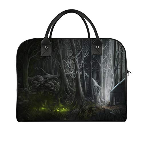 Travel HandbagDarkness Woody Plant Old-growth Forest Digital Compositing