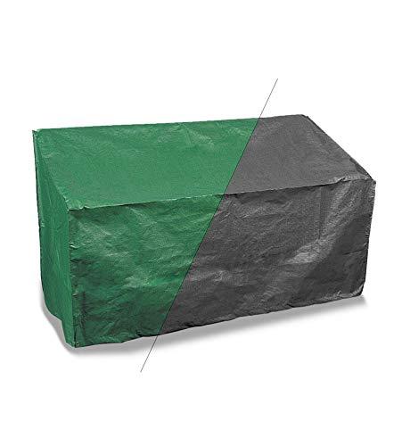 Bosmere Products Ltd P405 Housse réversible – Protection d'écran Plus Banc 2 Places Vert/Noir