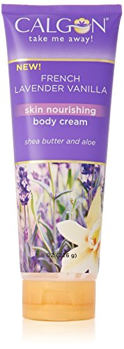 Calgon Shea-Enriched Body Cream (French Lavender Vanilla, 8-Ounce)