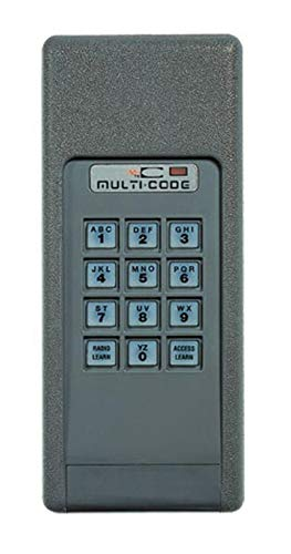 Linear Multi-Code 420001 300MHz Door Opener Wireless Keypad