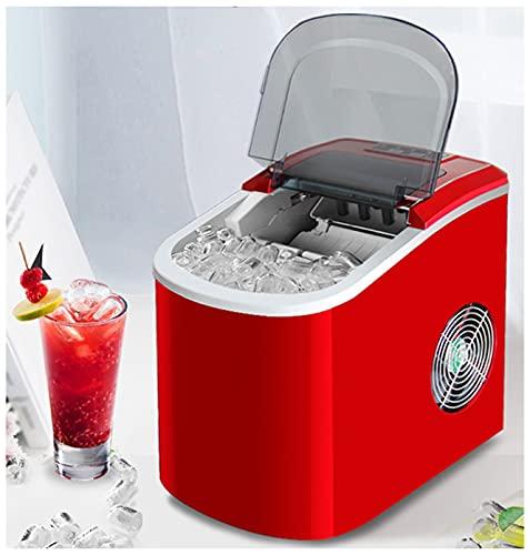 Máquina Para Hacer Cubitos - 30 Lbs / 24H Nugget Fabricante De Hielo, Fabricador De Hielo Portátil Encimera, 2 Tamaños De Hielo S/L Para La Cafetería De La Cocina De La Cocina