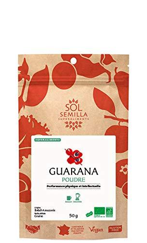 Sol Semilla Guarana blanc poudre 60 g