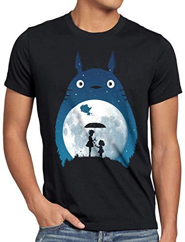 style3 Satsuki und MEI Herren T-Shirt Totoro Mein Nachbar Tonari no, Größe:XL