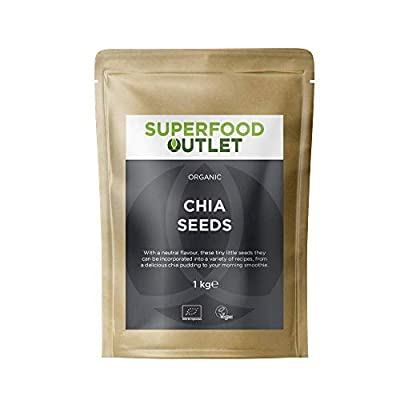 Organic Raw Chia Seeds | 1kg | Superfood Outlet