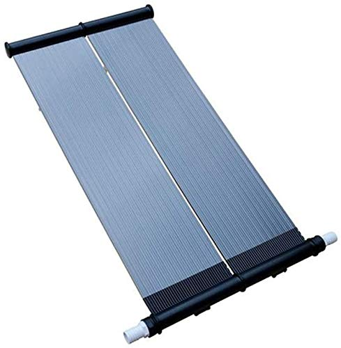 well2wellness Pool Solarheizung Solarkollektor 120 x 80 cm inkl. Aufständerung + Anschluss-Schlauch 38mm