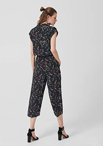 s.Oliver RED Label Damen gemusterter Overall - 5