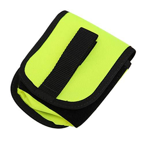 perfeclan Tauchen Gewichte Gürtel Tasche Bleigurt Taschen für Damen Herren - Gelb