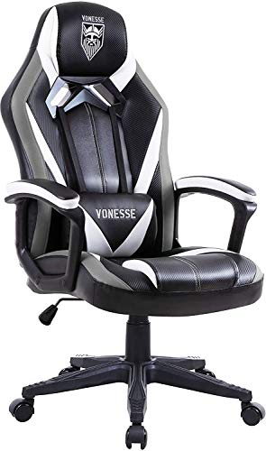 Vonesse Chaise Gaming pour Adultes, Fauteuil Gamer avec Mass