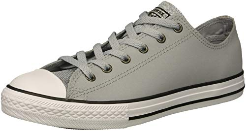 Converse Kids Chuck Taylor All Star Glitter Leather Low Top Sneaker